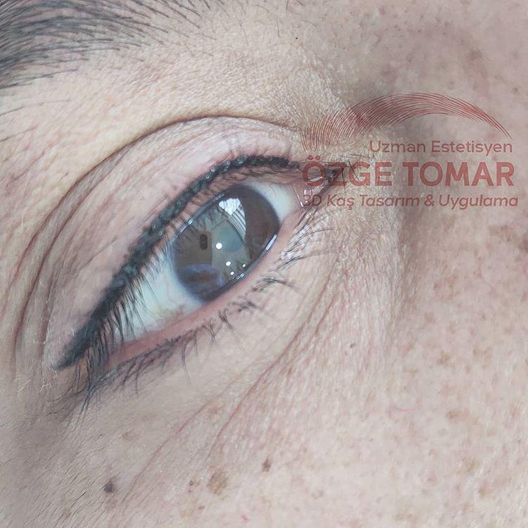kalıcı dipliner yaptıranlar - kalıcı eyeliner yaptıranlar